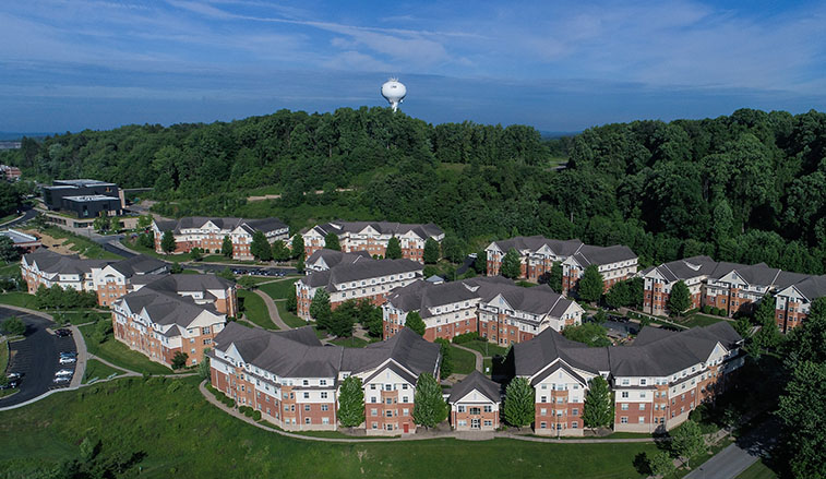 slippery rock university campus map Sru S Student Housing Earns In State And National Recognition slippery rock university campus map