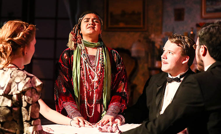 Sru Theatre Department Brings Blithe Spirit To Life Slippery Rock University