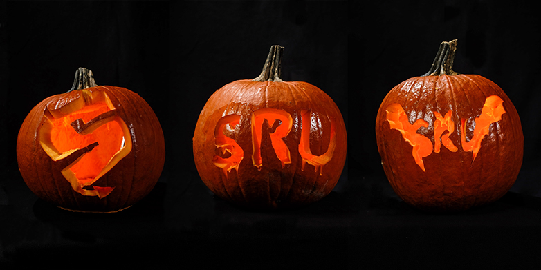 Sru Offers University Themed Jack O Lantern Stencils Slippery