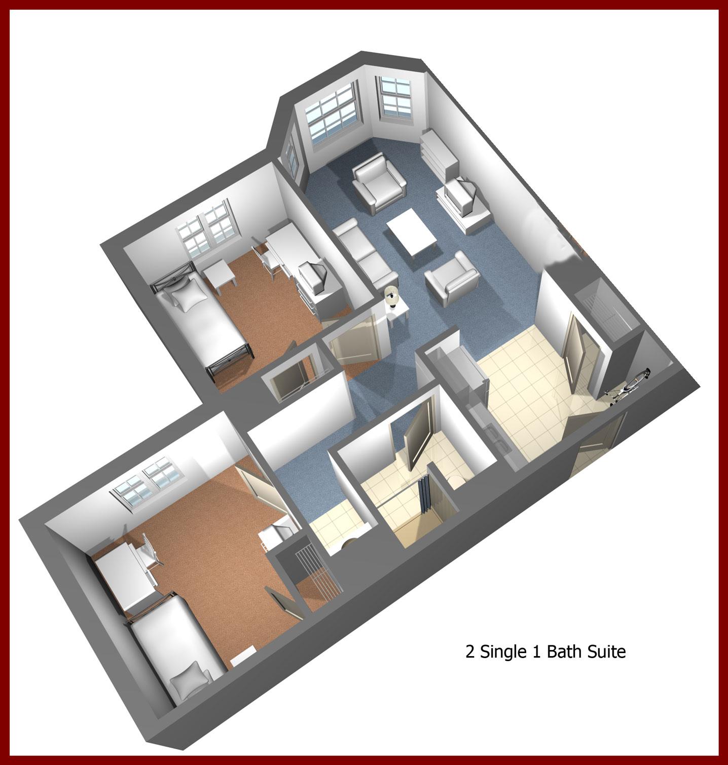 Residence Halls Slippery Rock University