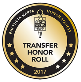 Transfer Honor Roll badge 2017