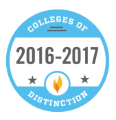 college of distinction 2016-17 badge