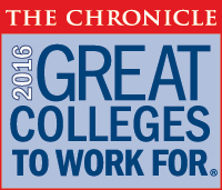 great colleges to work for 2016 logo