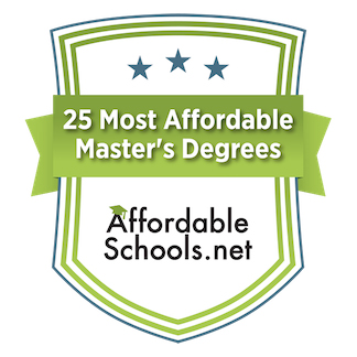 25 Most Affordable Online Master's of Mathematics/ Statistics Education Degrees logo