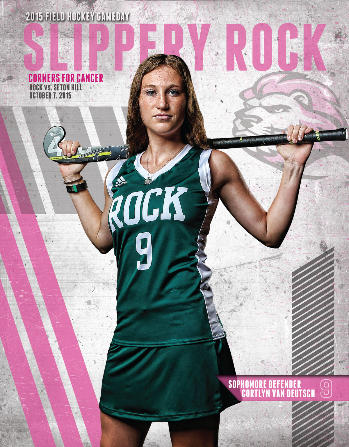 2015 Field Hockey Game Day Cover