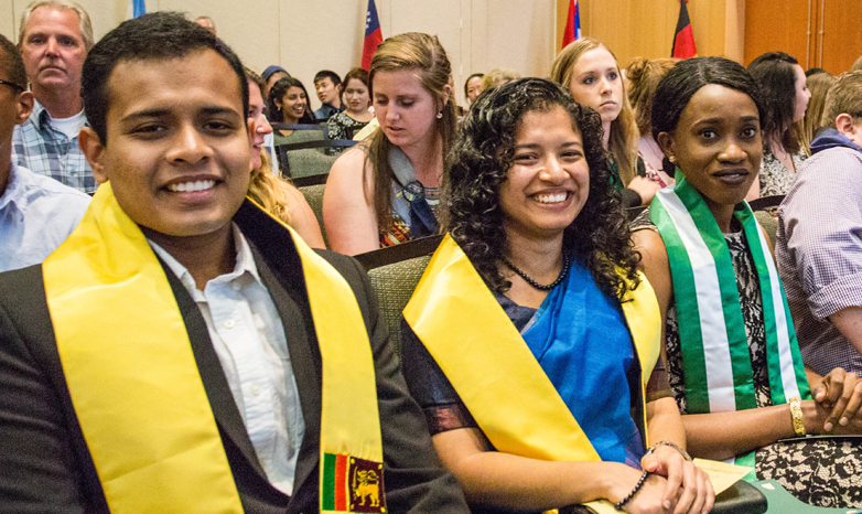 global graduation ceremony