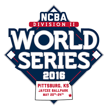 2016 National Club Baseball Association's Division II World Series logo