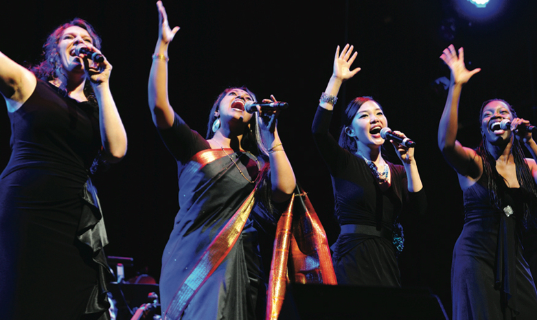 women of the world in concert