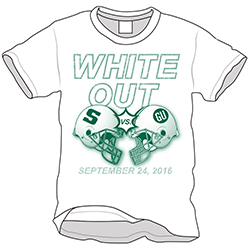 white out t-shirt