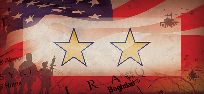 gold star banner american flag and army montage