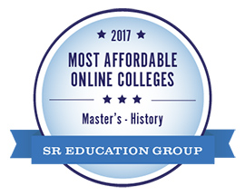 Most Affordable Online History Degree 2017