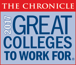 Chronicle's Best Places to Work For 2017 logo