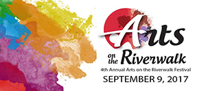 Arts of the Riverwalk badge