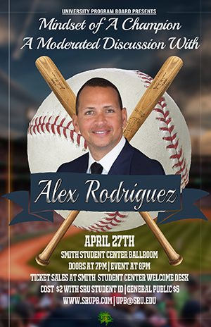 A-Rod event poster