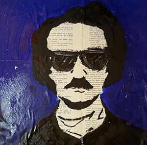 """Edgar Allen bro,"" by Anthony from Aquinas Academy."