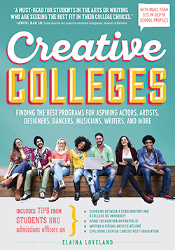 creative colleges poster