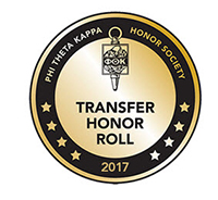 Phi Theta Kappa Transfer honor roll logo