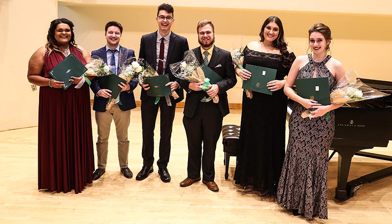 Students that competed in the Chad Williamson musical competiton