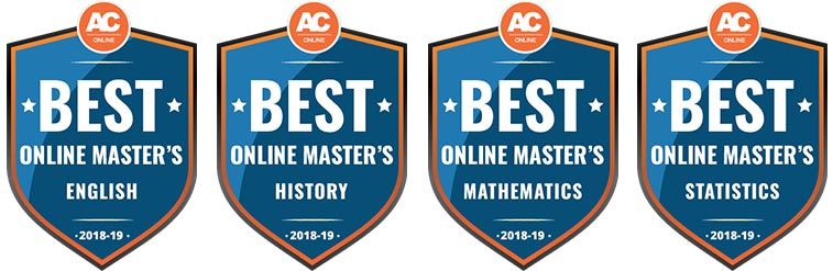 Online Masters of Mathmatics Badge