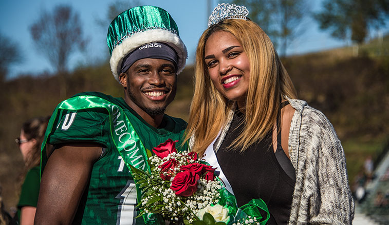 Homecoming King and Queen from 2017