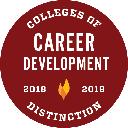 College of Distintion Badge