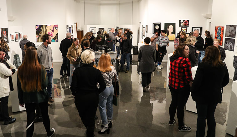 Slippery Rock University' Martha Gault Art Gallery will host a trio of senior capstone exhibitions Dec. 2-12 as part of Art Department's biannual Bachelor of Fine Arts Exhibition.