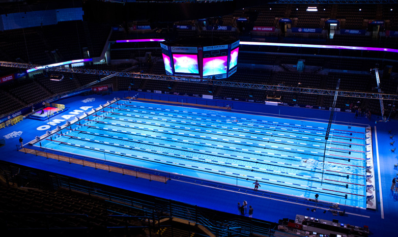 former sru swimmer dives into role at olympic team trials