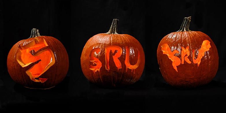 Spook tacular sru themed jack o lantern stencils