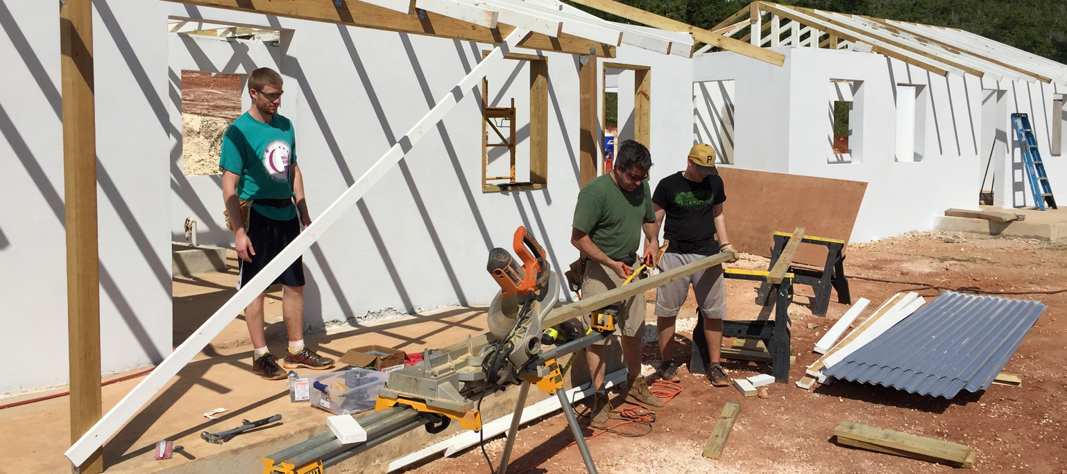 care trip students help build house in bolivia
