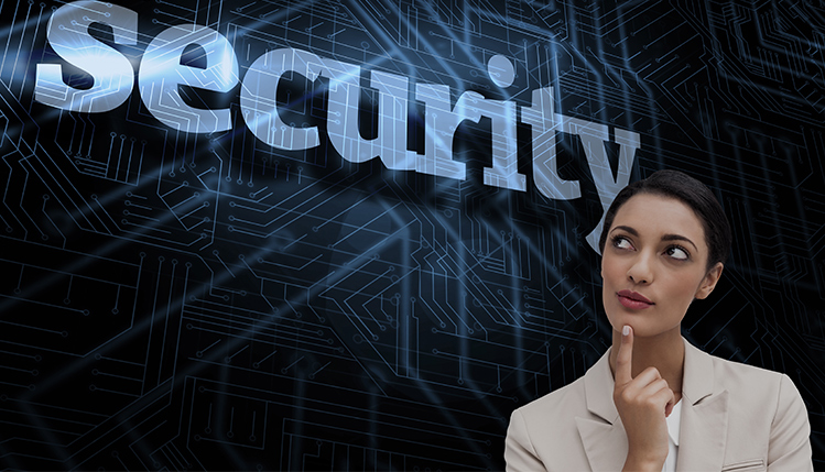 woman who is a security expert