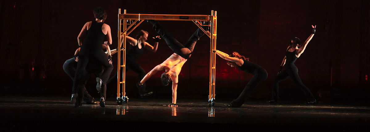 Dance performance choreographed by dance alumna