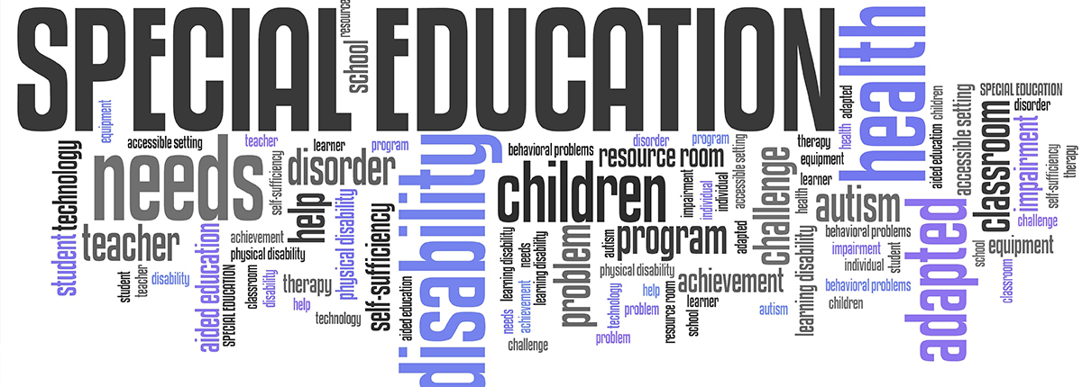 special education word cloud