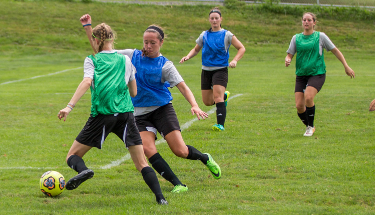 womens soccer camp