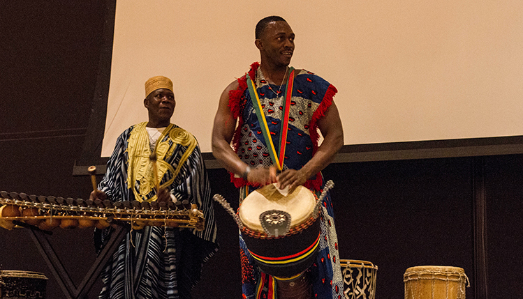 Kwanzaa celebration in the Smith Student Cneter