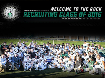 Thumbnail for Rock football signs 29 recruits