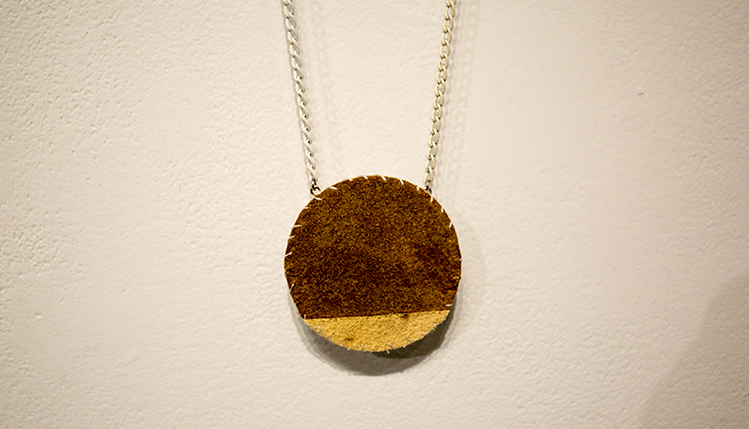 embroidery and jewelry art exhibit