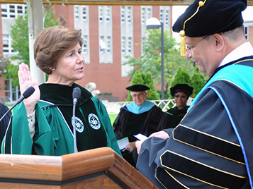 Thumbnail for Four years following her inauguration as president, Norton reflects on her SRU past, present and future