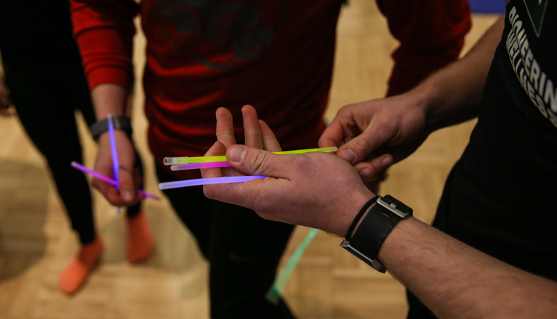 Glow sticks cracked and starting to glow