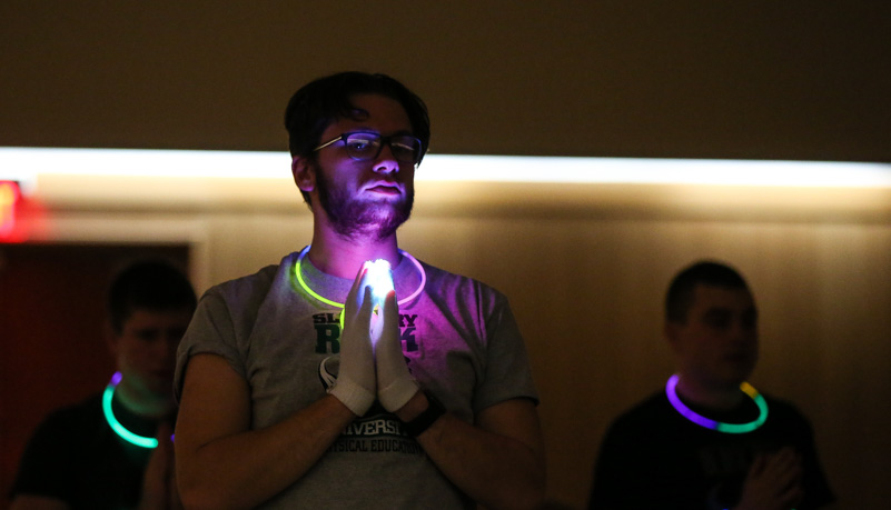 Glow sticks a LED gloves