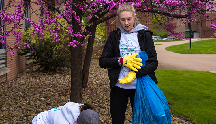 campus cleanup event