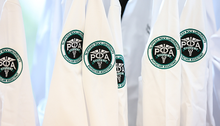 THE WHITE COATS ARE COMING!' || Slippery Rock University