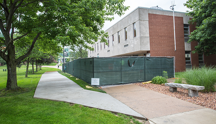 bailey library construction