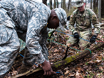 Thumbnail for SRU's ROTC program takes education, training into the field – literally
