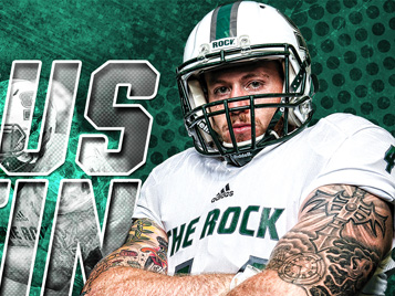 Thumbnail for SRU's Martin named national finalist for Campbell Trophy