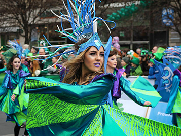 Thumbnail for 'Luck of the Rock': SRU's Marching Pride invited to Dublin's 2019 St. Patrick's Festival
