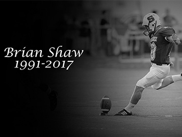 Thumbnail for Rock football mourns the loss of Brian Shaw