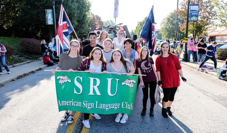 American Sign Language Club banner