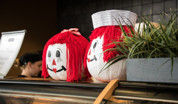 raggedy ann and andy pumpkins