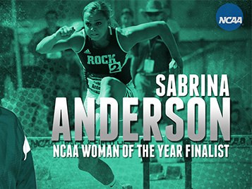 Thumbnail for SRU grad Anderson named one of nine finalists for NCAA Woman of the Year