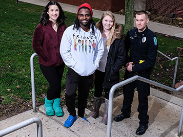 Thumbnail for SRU student brought back to life by classmates, first responders
